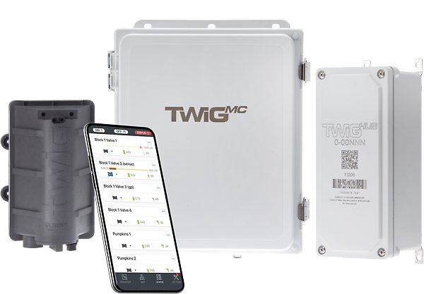 TWIG® Wireless Controls for irrigation sprinkler systems